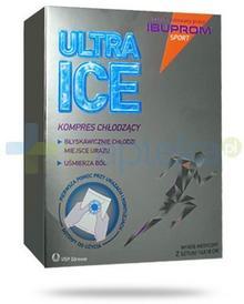 USP ZDROWIE SP. Z O.O Ibuprom Sport Ultra Ice kompres chłodzący 14x 18cm 2 sztuki 9081495