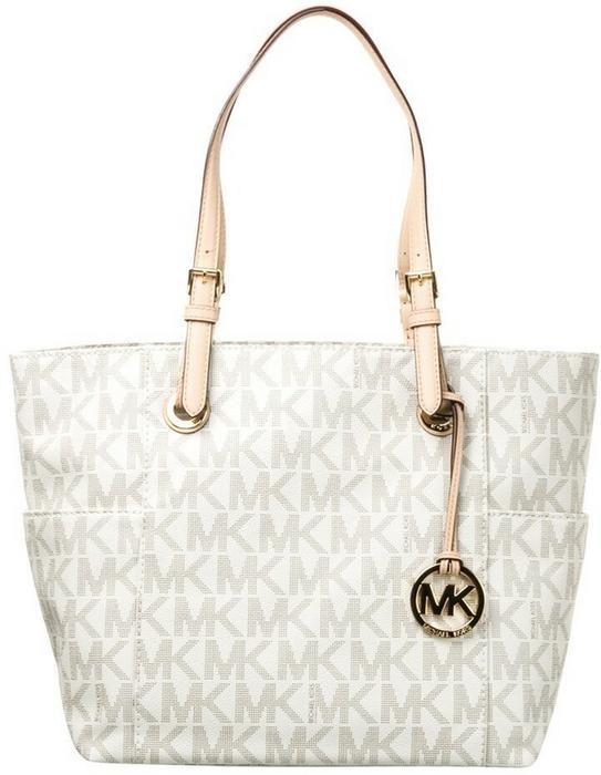 Michael Kors MICHAEL JET SET torba na zakupy vanilla 30S11TTT4B