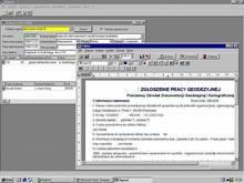 CODER Operat (tworzenie dokumentacji robót geodezyjnych)