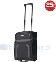 Travelite Mała kabinowa walizka ORLANDO 98487-01 Czarna - nowy \ czarny