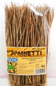 Niro Makaron pełnoziarnisty spaghetti orkiszowy BIO 400 g