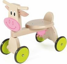 Scratch Pojazd drewniany krówka 6181401