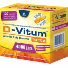 Oleofarm D-Vitum Forte 4000j.m. 120 kapsułek 3058322