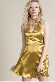 Missguided Sukienka DE907792 złoty