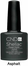 CND Shellac Lakier Hybrydowy Asphalt7,3ml Asphalt