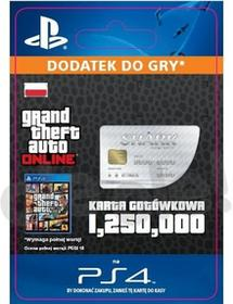Sony Grand Theft Auto V Karta Gotówkowa GWS [kod aktywacyjny] Dostęp po opłaceniu zakupu
