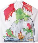 Efalock Fire Dragon. Peleryna dla dzieci. smoki