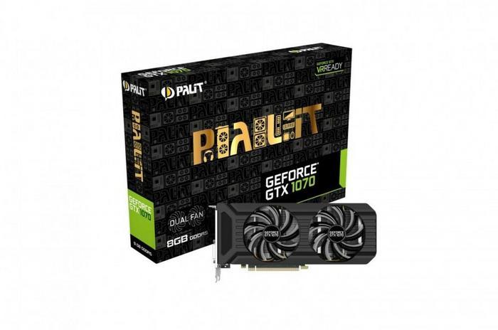 Palit GTX1070 VR Ready