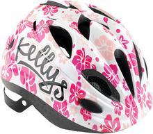 Kellys Kask rowerowy dziecięcy BUGGIE white flower