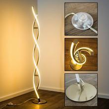 Paul Neuhaus POLINA lampa stojąca LED Stal nierdzewna, 2-punktowe - Nowoczesny/Design/Lokum dla młodych - Obszar wewnętrzny - POLINA - Czas dostawy: od 2-4 dni roboczych 9140-55