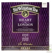 Winston Tea Sir Winston Heart of London 100ex czarna 049267