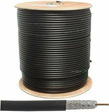 Lexton Kabel koncentryczny ŻELOWANY MIEDZIANY LX K531C F690BV CZARNY (ROLKA 300m