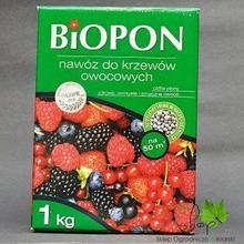 Biopon Nawóz DO KRZEWÓW OWOCOWYCH 1kg