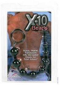 California Exotic NoveltiesX-10 Beads Black