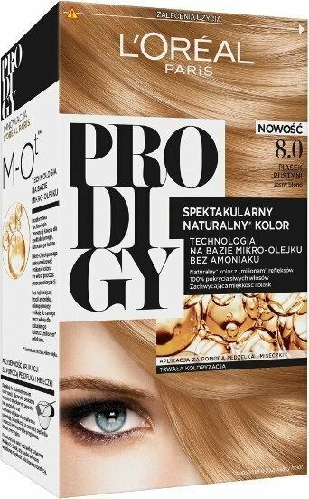 Loreal Prodigy5 8.0 Piasek Pustyni Jasny Blond