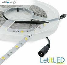 Whitenergy Taśma LED 5m | ciepła biała 2700-3000K | LED 5050 30szt/m | 7.2W/m |