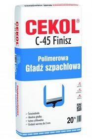 Cekol Gładź szpachlowa C-45 Finisz 20kg 5906474458222