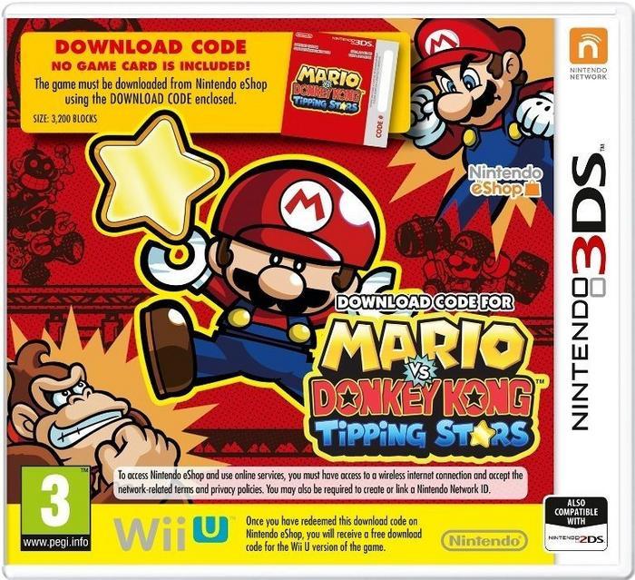 Mario vs Donkey Kong: Tipping Stars 3DS