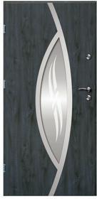 O.K.Doors Drzwi zewnętrzne  Otto Ellise 90 lewe antracyt