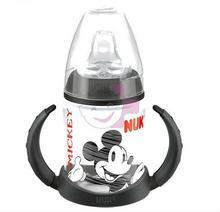 NUK Butelka FirstChoice Butelka Miceky Mouse z podwójnym uchwytem 150ml - CZARNY