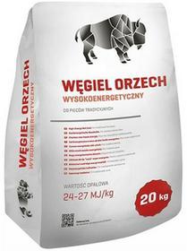 Tani OpałWęgiel orzech wysokoenergetyczny  24-27 MJ 20 kg