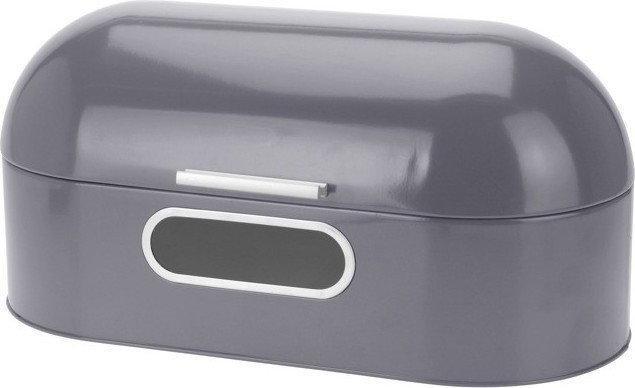 EH Excellent Houseware Metalowy chlebak, Chlebak - szary CD4000010-