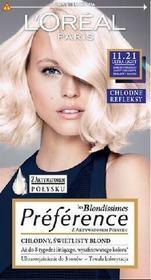 Loreal Recital Preference 11.21 Bardzo Bardzo Jasny Chłodny Perłowy Blond