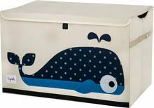 3Sprouts Pudełko Zamykane Wieloryb