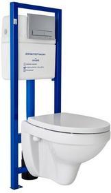 Cersanit Zestaw podtynkowy WC Inteo z deską wolnoopadająca