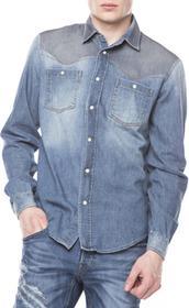 Roberto Cavalli Koszula Niebieski M