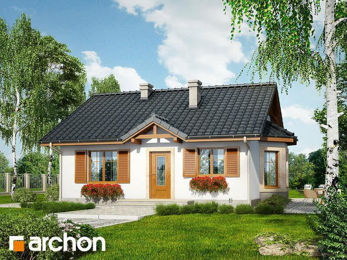 Archon+ Dom w jagodach ver.2 (powierzchnia 61.28 m2)