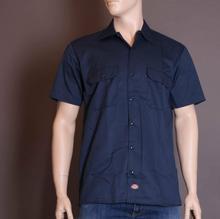 Dickies Koszula 1574 Short Sleeve Work Shirt - granatowa