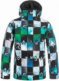 Quiksilver kurtka Mission Printed Youth Jacket BGZ9) rozmiar 8/S