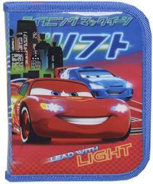 Disney Cars Piórnik z wyposażeniem, 16 elementów