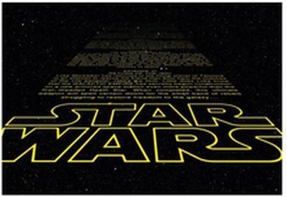 Fototapeta Star Wars Intro 368 x 254 cm