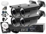 Zestaw do monitoringu: Rejestrator LV-AHD442h+ 4x Kamera LV-AL60HVT + dysk 1TB +