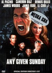 Męska Gra (Any Given Sunday) [DVD]