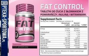 Bio Tech Fat Control - 120 tabl