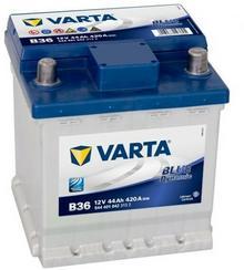 Varta Blue Dynamic B36 12V 44Ah 420 A TRANSPORT OD 15 ZŁ GWARANCJA DOSTĘPNOŚCI I BŁYSKAWICZNEJ WYSYŁKI ŚWIEŻA PRODUKCJA)