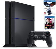 Sony Playstation 4 1TB Czarny + Killzone Shadow Fall + Infamous First Light