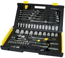 Stanley Zestaw narzędzi MicroTough 75 sztuk 1/4 i 1/2 94-660