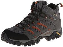 Merrell Buty trekkingowe MOAB MID GTX dla mężczyzn, kolor: szary, rozmiar: 45 B00132GBRA