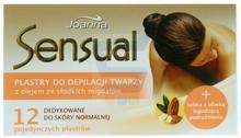 Joanna Sensual plastry twarzy z olejem ze słodkich migdałów 12 szt.