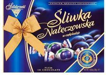 Solidarność Bombonierka Śliwka Nałęczowska w czekoladzie 300 g