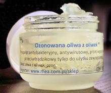Ozonowana oliwka- na trądzik i nie tylko