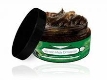Savon Noir Czarne Mydło w kostce Oliwkowe Naturalne 300ml CosmoSPA