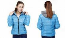 Zolta zimowa kurtka pikowana - różne kolory 0000000436