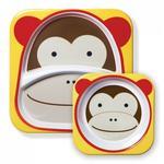 Skip Hop Zestaw jedzeniowy Zoo Małpa 252202