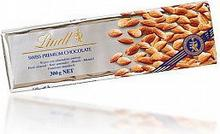 Lindt Swiss Premium Chocolate with almonds 300g