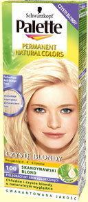 Schwarzkopf Palette Permanent Natural Colors 100 Skandynawski blond